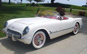 English: 1953 Chevrolet Corvette Convertible