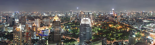 Bangkok Night Wikimedia Commons