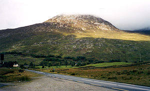 Connemara on a cloudy day.