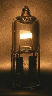 Halogen lamp to represent something that is not allowed