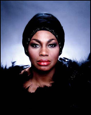 English: Leontyne Price (color) by Jack Mitchell