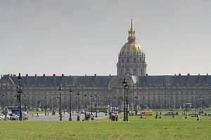 Français : Esplanade des Invalides