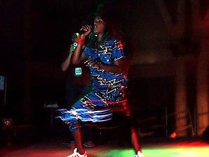 M.I.A. in concert - Sonar 2005.