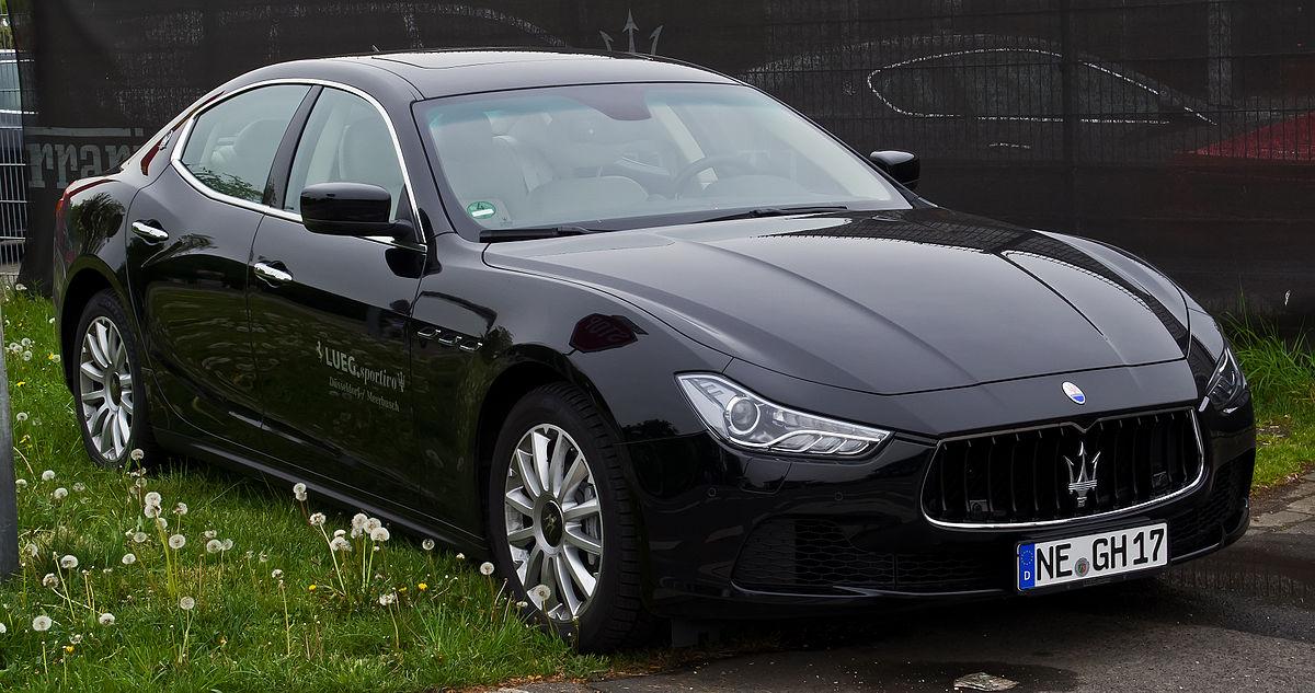 Maserati Ghibli 2013 Wikipedia