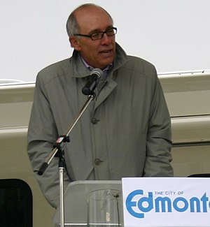 Mayor of Edmonton, Stephen Mandel.