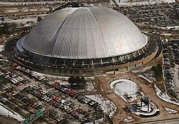 Mellon Arena in downtown Pittsburgh, Pennsylvania.
