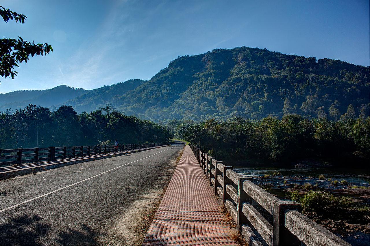 File Rural Road In Kerala India December 2013 Jpg