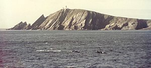 Sumburgh Head. An unusual view of Sumburgh Hea...