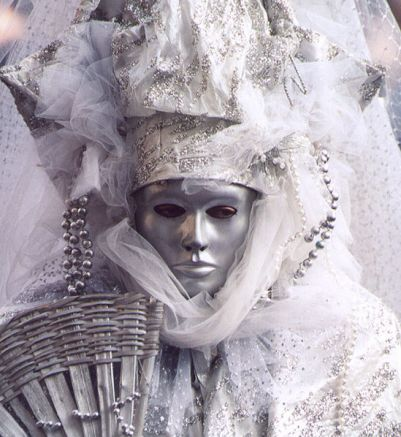 Venice Carnival Costume and Masks