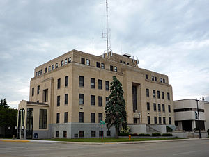 English: Marinette County Courthouse, Marinett...