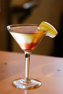 "Color Martini: ""Maya's drink (at Tokyo Go..."