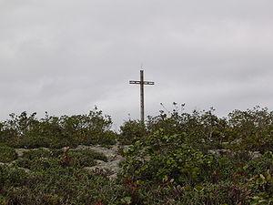 """The cross of the """"Morro do Pai Inácio&quo..."""
