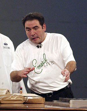 Chef Emeril Lagasse Original description: Staf...