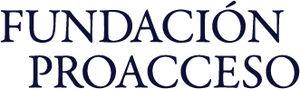 Español: Logo de la Fundación Proacceso