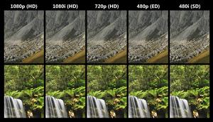 A comparison of high definition, enhanced defi...