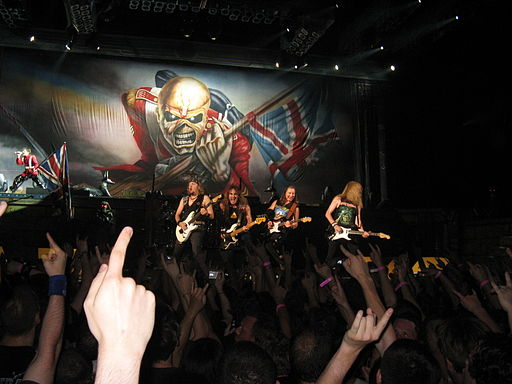 Iron Maiden in Bercy 1