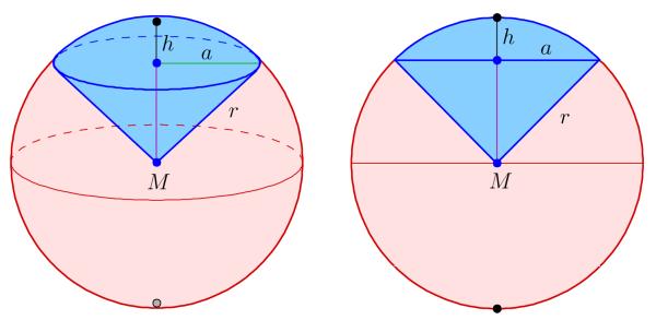 Spherical sector - Wikipedia
