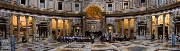 intérieur du Panthéon