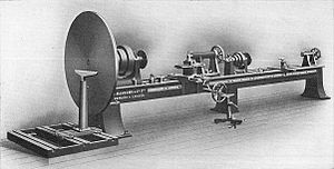 Patternmaker's double lathe (Carpentry and Joi...