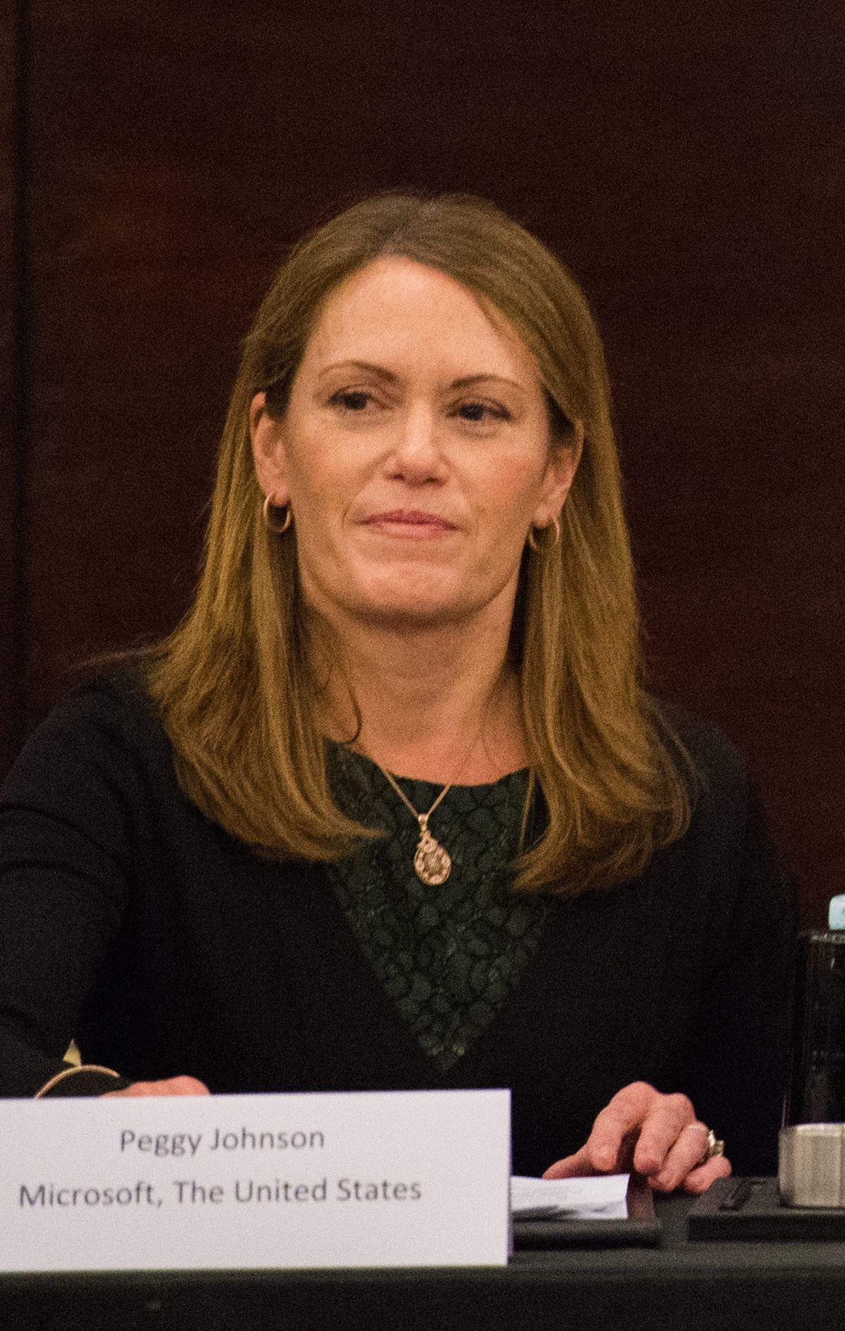 Peggy Johnson Wikipedia