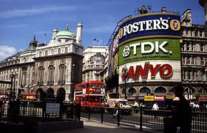Piccadilly Circus, London, Great Britain