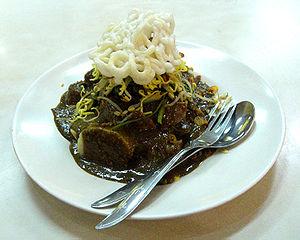 English: Rujak Cingur (Javanese: mouth rojak),...