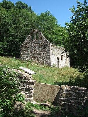 St James' church, Lancaut, Wye valley