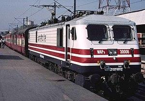 Indian locomotive class WAP-5 (30006)