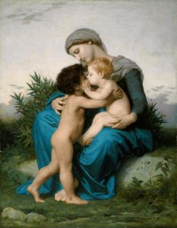 Amor Fraterno de Bouguereau
