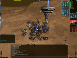 An in-game screenshot of a player-versus-playe...
