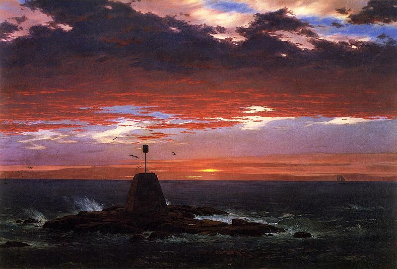 File:Beacon, off Mount Desert Island Frederic Edwin Church.jpg