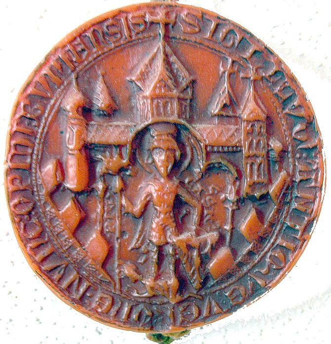 Stadsiegel von Bonn 1280.