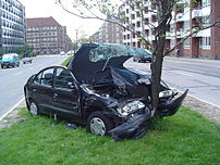 202px Car crash 1 - Don't Rely on Carfax Accident Reports, Cautions Elmira Attorney