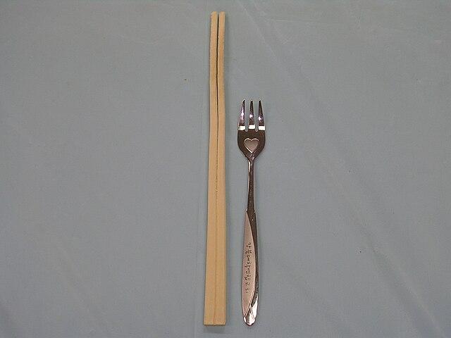https://i1.wp.com/upload.wikimedia.org/wikipedia/commons/thumb/e/e1/Chopsticks_and_fork.JPG/640px-Chopsticks_and_fork.JPG