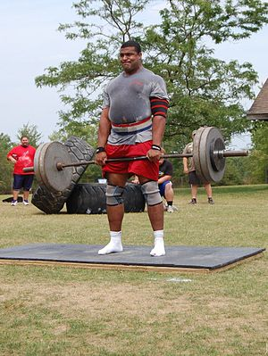 Strongmen event: the Deadlift (phase 3).