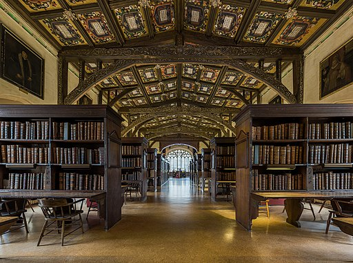 Duke Humfrey's Library Interior 6, Bodleian Library, Oxford, UK - Diliff