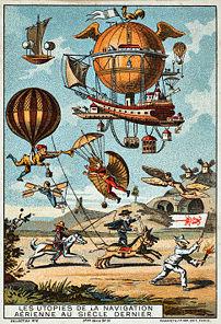 Utopian flying machines of the previous centur...