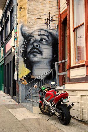 Mural by El Mac and Augustine Kofie