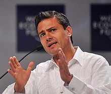 Peña Nieto at the World Economic Forum (2010)