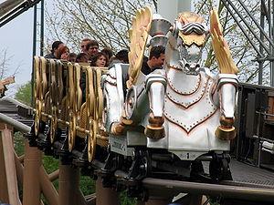 Roller coaster Pegasus at Europa-Park, Rust, G...