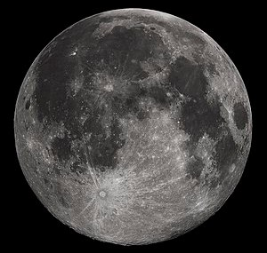 Full Moon photograph taken 10-22-2010 from Mad...