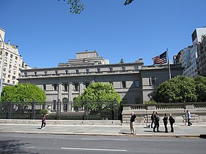 Henry C. Frick House on 5th Avenue in New York...