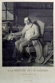 Portrait of Joseph Marie Jacquard (1752-1834)