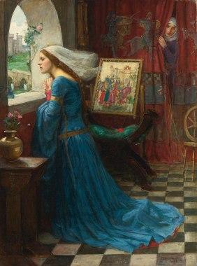 John William Waterhouse - Fair Rosamund