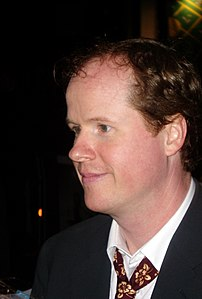Joss Whedon at the premiere of Serenity