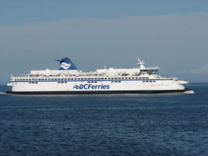 BC Ferry Spirit of Vancouver Island IMO number...