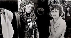 Français : Rudolph Valentino et Agnes Ayres da...