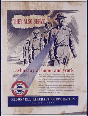They Also Serve...Who stay at home and work - ...