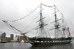 USS Constitution, the oldest U.S. Warship curr...