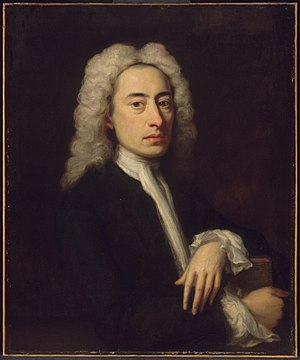 English: Portrait of Alexander Pope attributed...